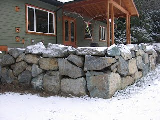 Construction of Rock Walls